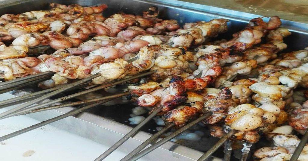 Pinchos de carne de Palermo (stigghiola)
