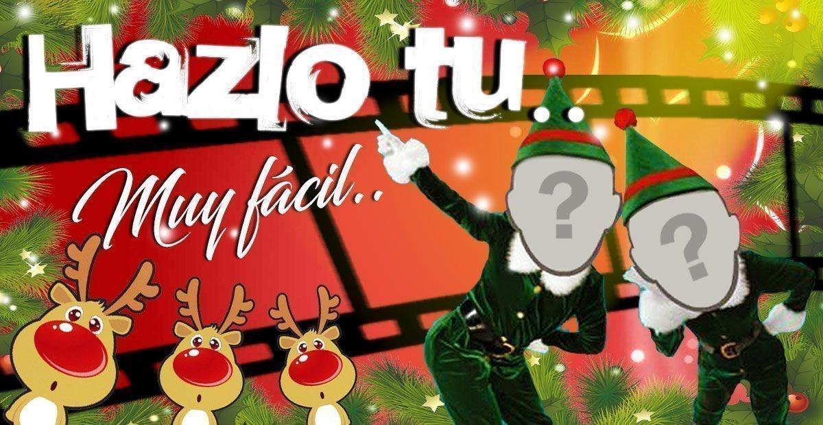 Felicitaciones De Navidad En Castellano.Como Hacer Videos De Navidad Con Tu Cara Facil Y Gratis