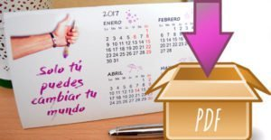 DESCARGA CALENDARIO 2017 GRATIS PDF