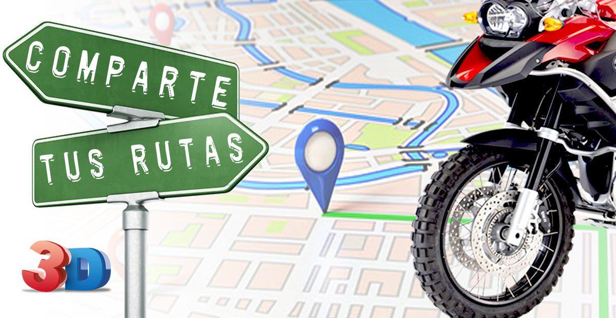 COMO HACER UN VÍDEO DE RUTAS 3D (para moto, bici y senderismo)