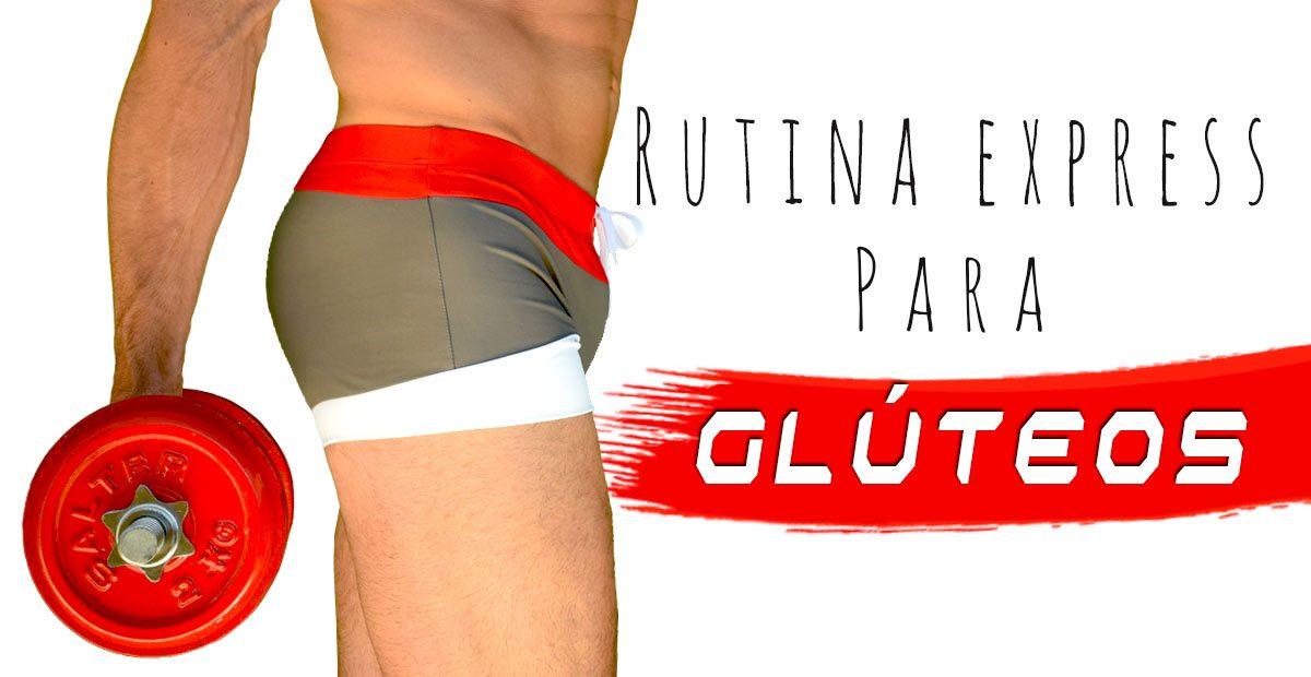 GLÚTEOS EXPRESS: Rutina de ejercicios en Casa para Hombres