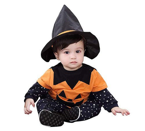 Disfraces de Halloween para niños pequeños de 0 a 2 años