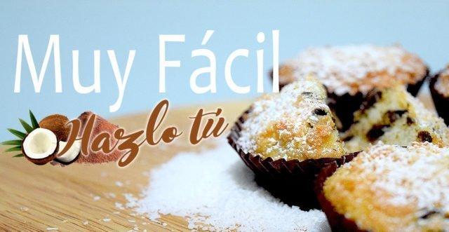 CÓMO HACER DULCES DE COCO Y CHOCOLATE Receta Fácil