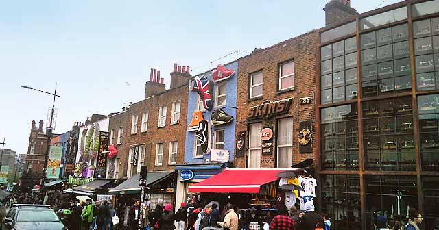 Mercados alternativos en Londres