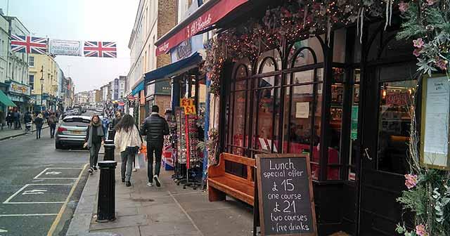 Barrios y calles famosas de londres