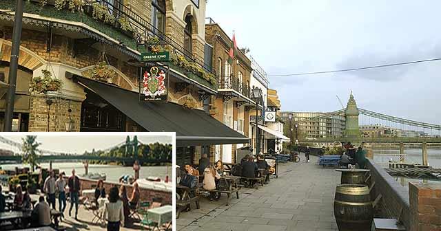 Sitio Localización de la película de Queen - Bohemian Rhapsody en Londres