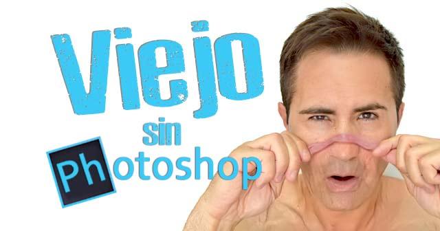 Cómo hacer mi cara vieja en las fotos sin photoshop (fotomontaje fácil)