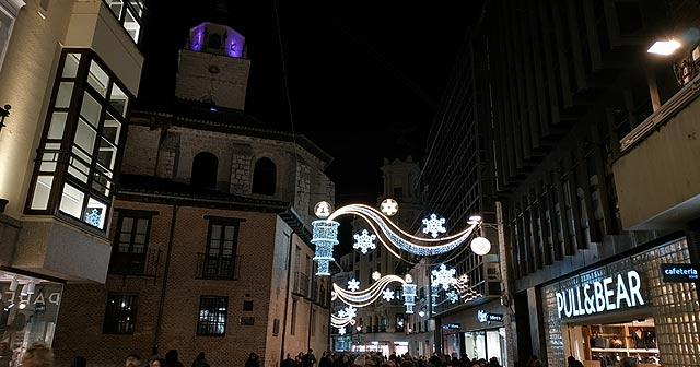 Valladolid luces Navidad 2019