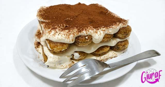 receta postre fácil de hacer con café y nata