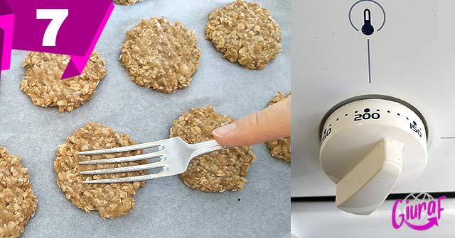 receta para hacer galletas con fruta natural