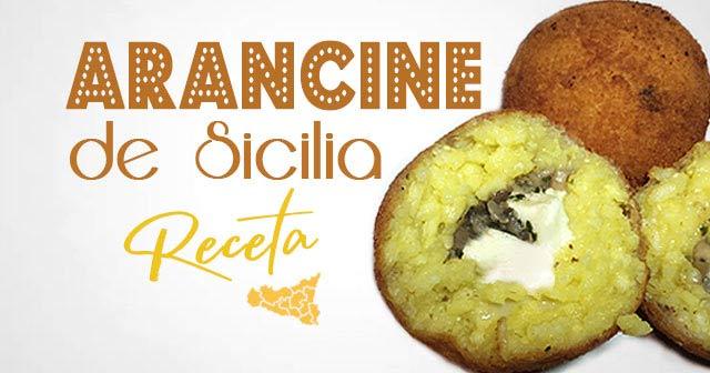 RECETA COMIDA ITALIANA La Croqueta de Arroz con Champiñones y Mozzarella