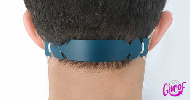 sistema fácil y rápido para evitar el dolor detrás de las orejas de la mascarilla