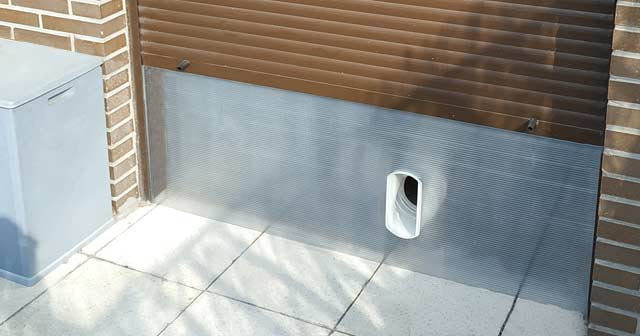 kit aire acondicionado portatil puerta ventana
