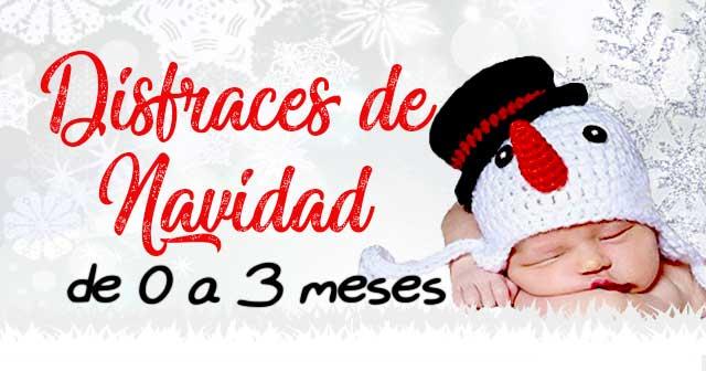 Disfraces de Navidad Bonitos para Bebés de 0 a 3 Meses