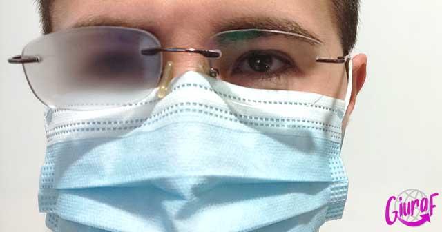 como evitar que se empañen las gafas con la mascarilla